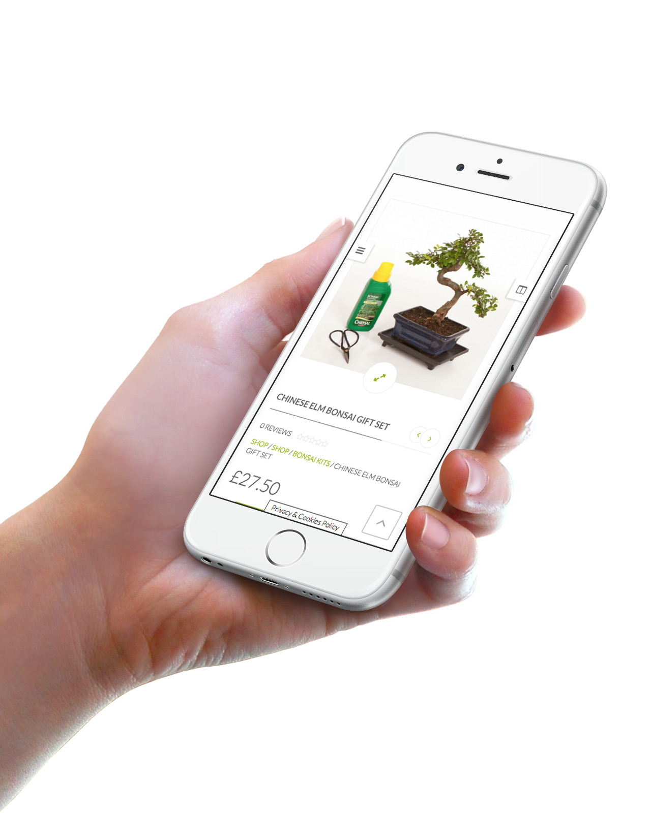 apple iphone all things bonsai website design responsive example sheffield website designer ideauk