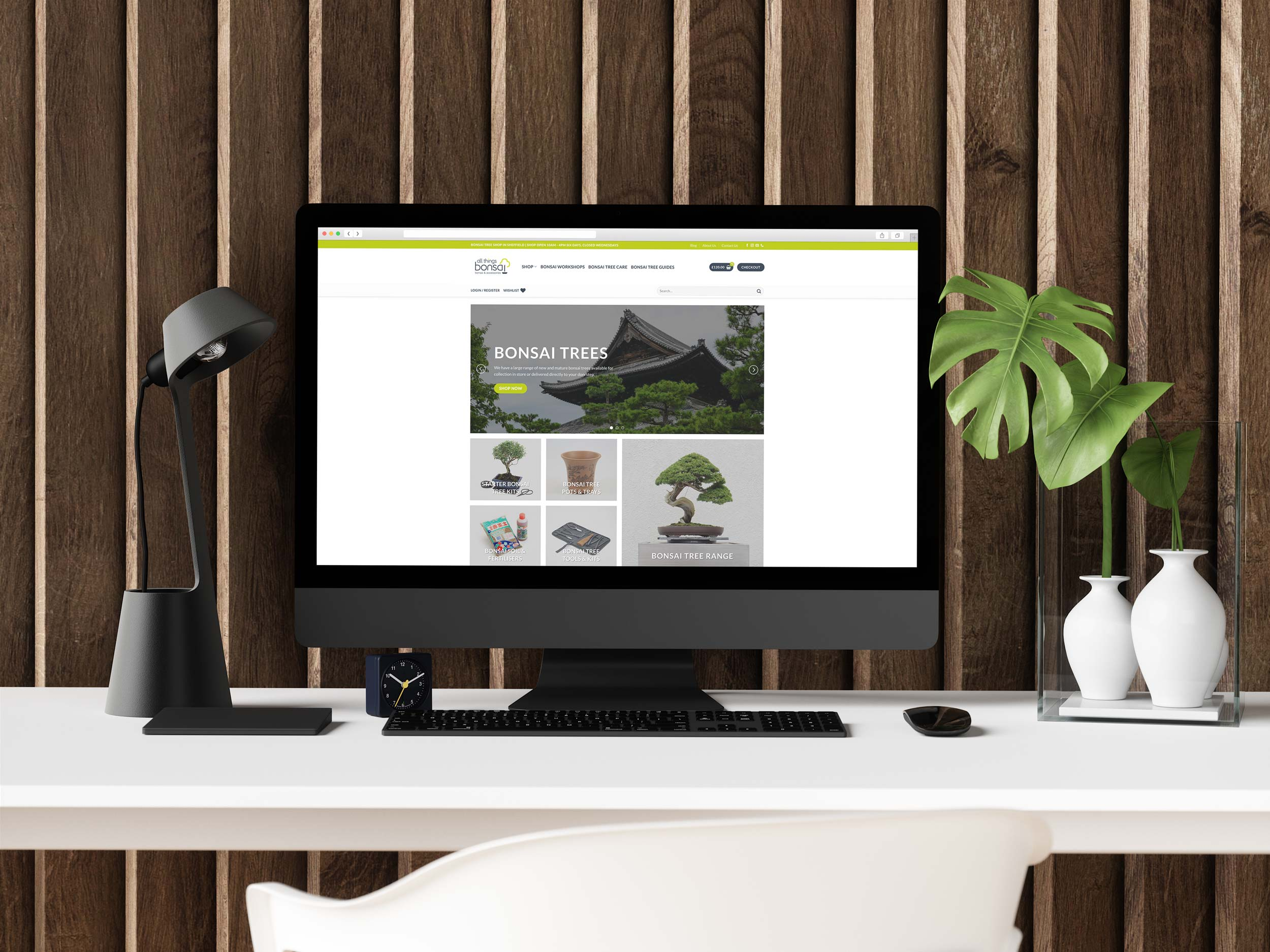 All Things Bonsai Website Designer IDEA DESIGN AGENCY