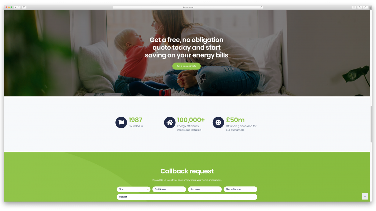 JJ Crump Son Website Design IDEA DESIGN AGENCY 6