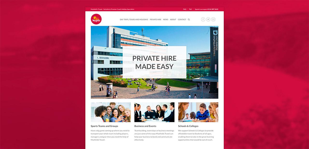 Maxfields Travel Website Design IDEA DESIGN AGENCY Website Designer 14