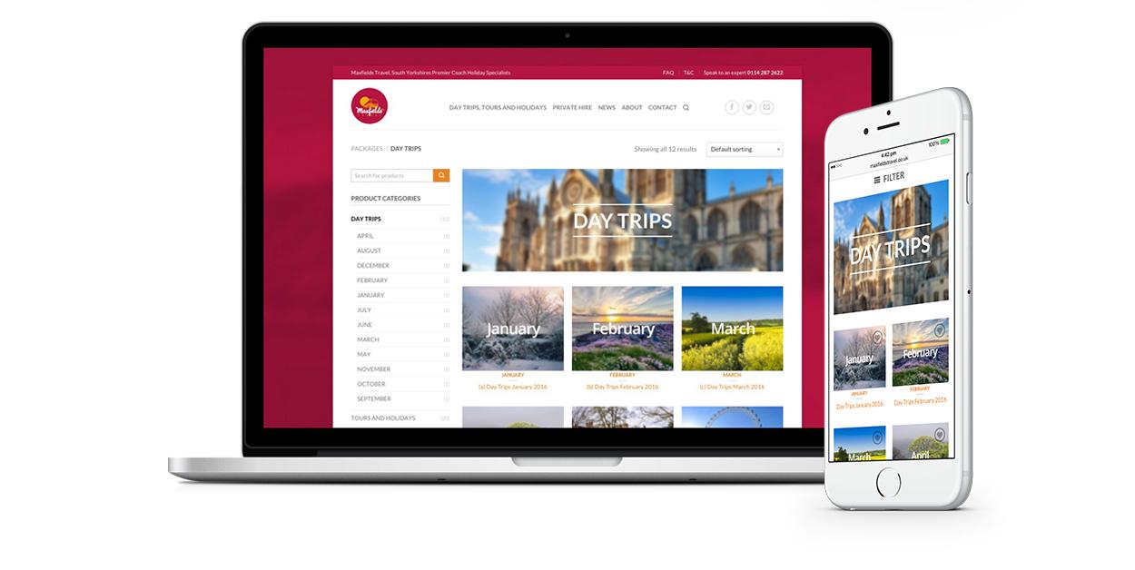 Maxfields Travel Website Design IDEA DESIGN AGENCY Website Designer 24
