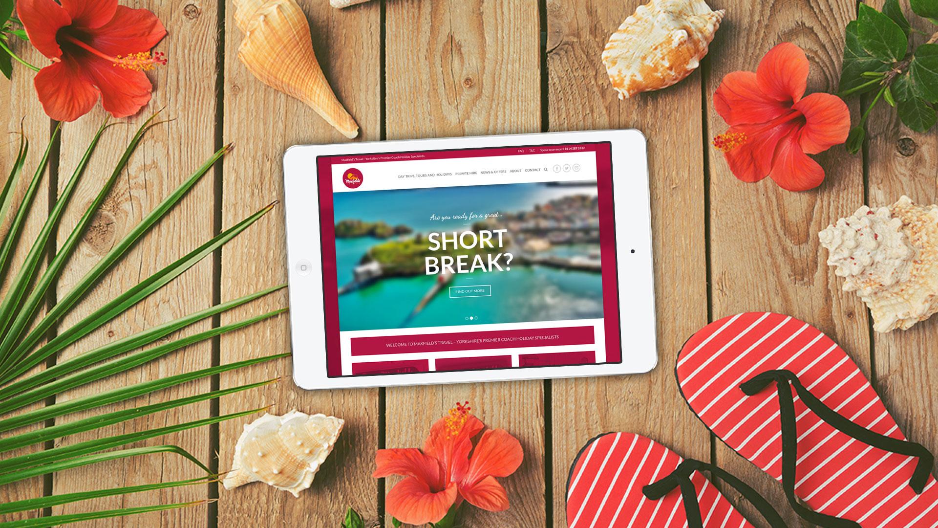 Maxfields Travel Website Design IDEA DESIGN AGENCY Website Designer 29