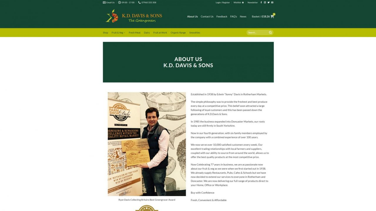 kd davis and sons website 4