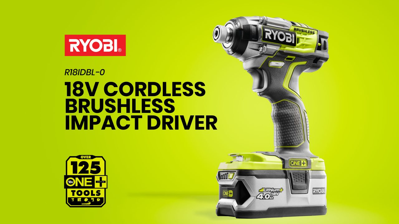 Ryobi Impact Driver Photography by Product Photographer wipdesigns sheffield 1