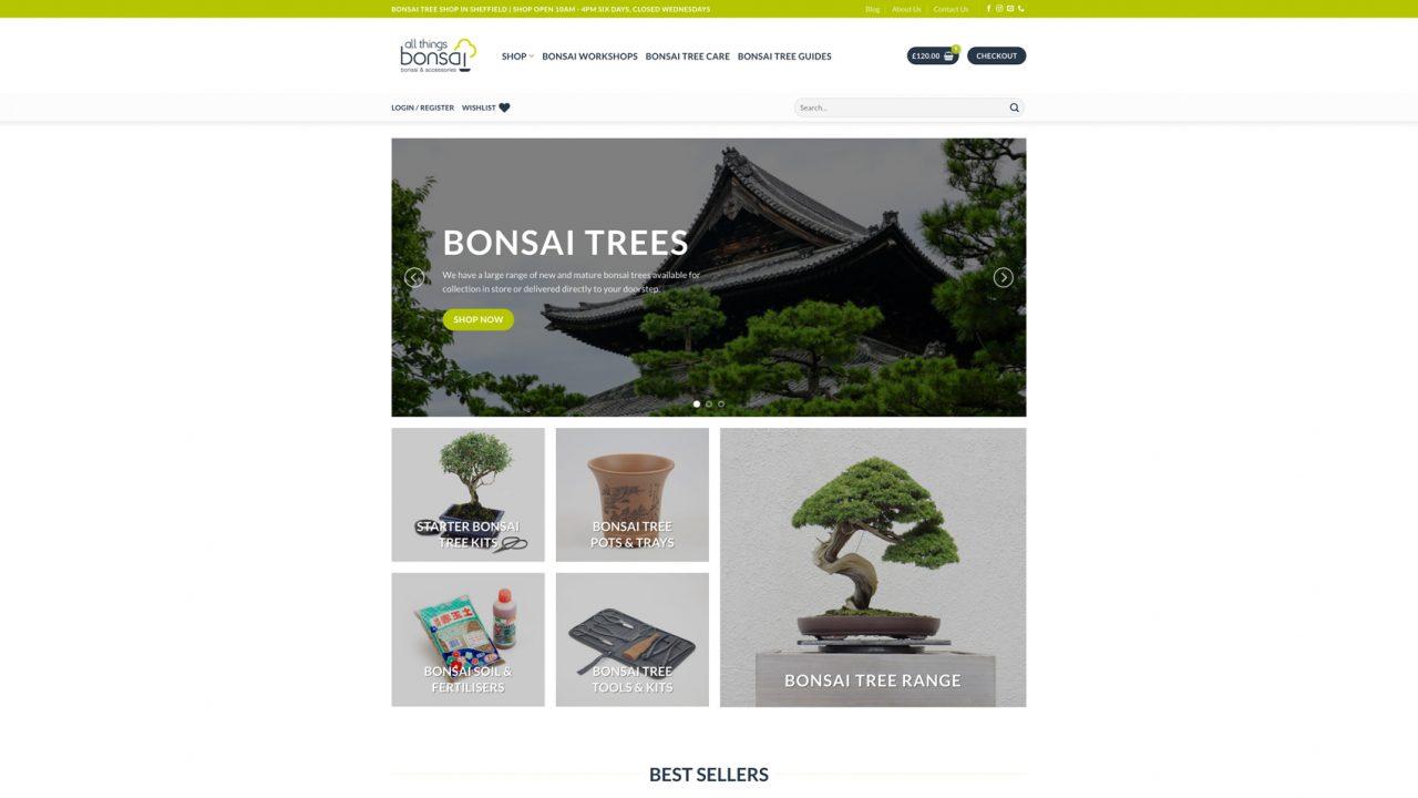 All Things Bonsai Website Designer IDEA DESIGN AGENCY 12