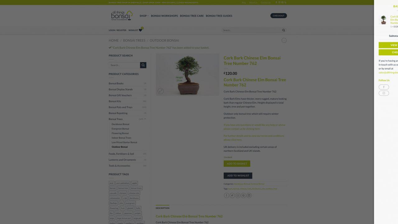 All Things Bonsai Website Designer IDEA DESIGN AGENCY 3