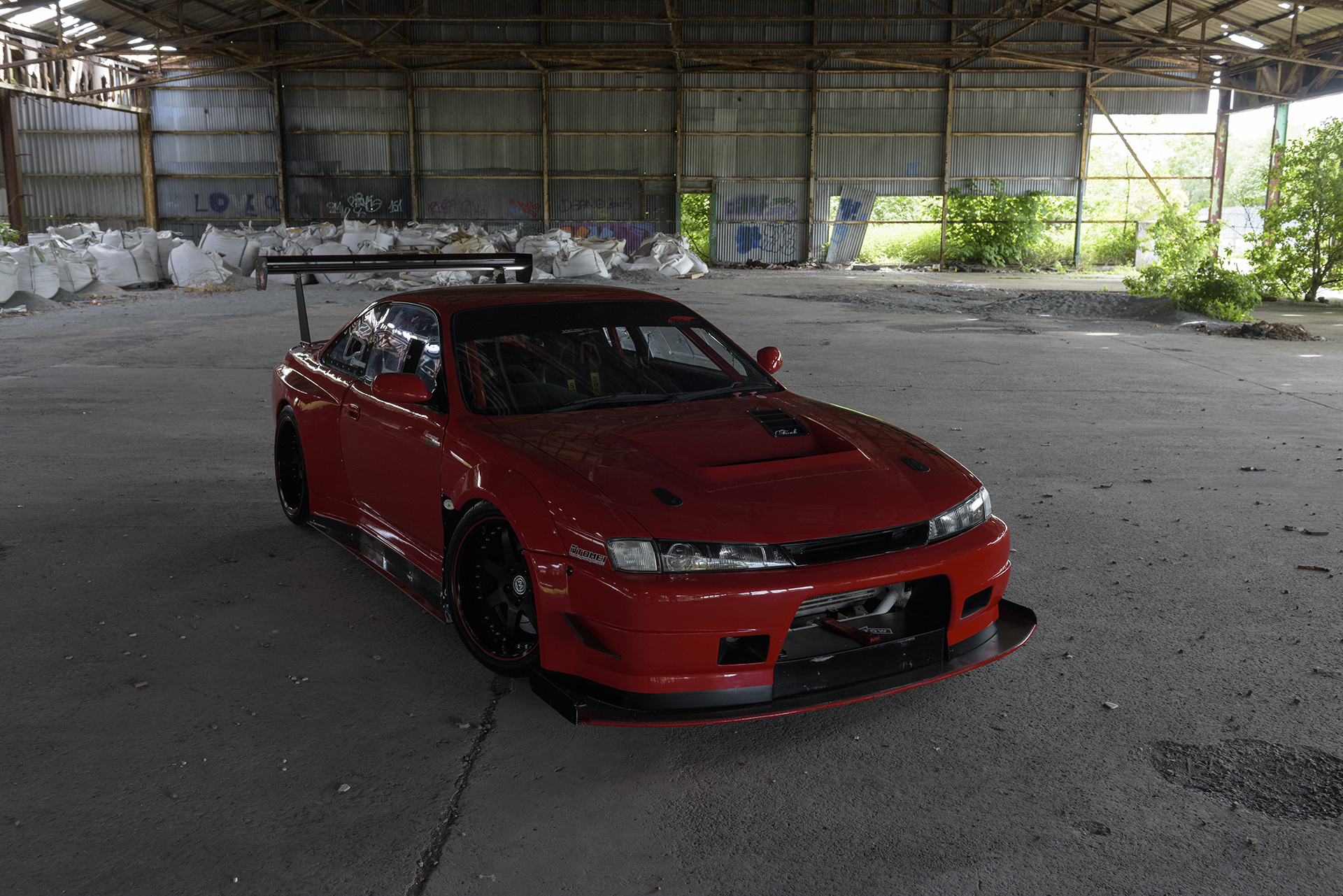 nissan silvia s14 before