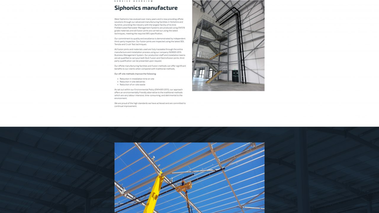 Services West Siphonics Systems