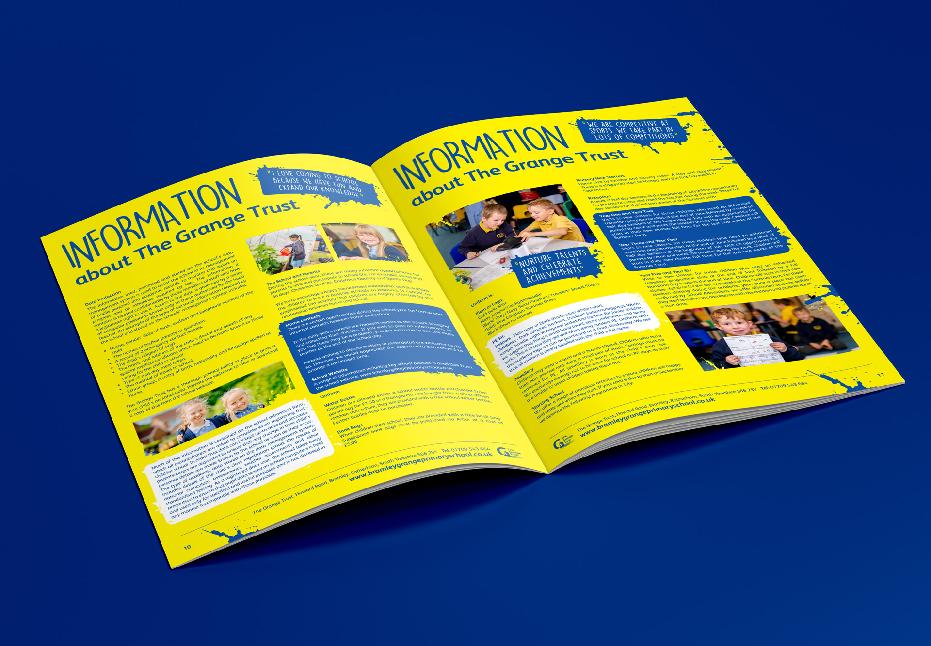Mockup A4 Brochure 2