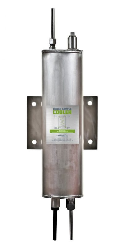 Product Photographer fabricated products water sample cooler before